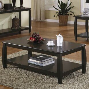 Renea Contemporary Wooden Coffee Table