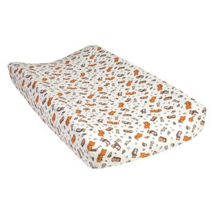 Best Reviews Vanbuskirk Wild Bunch Deluxe Flannel Changing Pad Cover By Harriet Bee