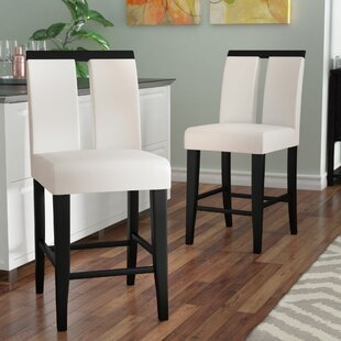 Equuleus 27 Bar Stool (Set of 2) Latitude Run