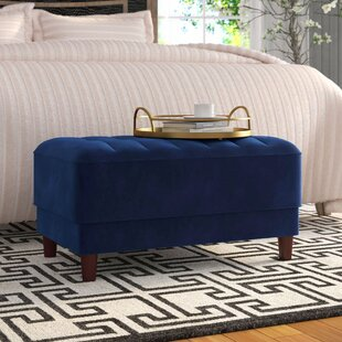 Nia Pin Tufted Standard Ottoman by Willa Arlo Interiors