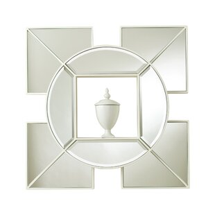 Global Views Arabesque Shadow Box Accent Mirror