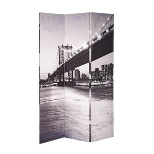 Riko 3 Panel Room Divider by Latitude Run