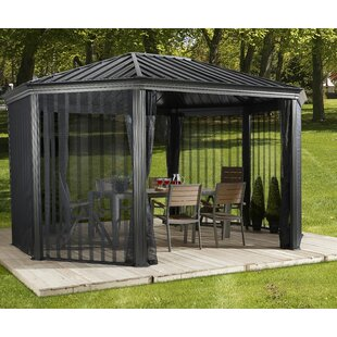 Komodo 18 Ft. W x 12 Ft. D Aluminum Patio Gazebo by Sojag