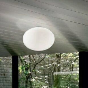 ZANEEN design Gilbert 1-Light Flush Mount