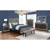 Suttles Upholstered Standard Configurable Bedroom Set by Rosdorf Park