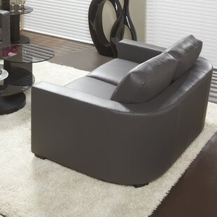 947 Series Leather Loveseat