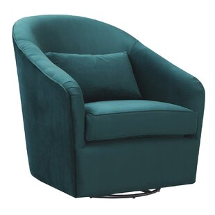 Arlea HighBack Swivel Barrel Chair by Latitude Run