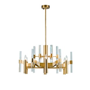 Everly Quinn Zonia 6-Light Candle Style Chandelier