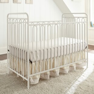 Read Reviews Trinity Metal 3-in-1 Convertible Crib By Harriet Bee