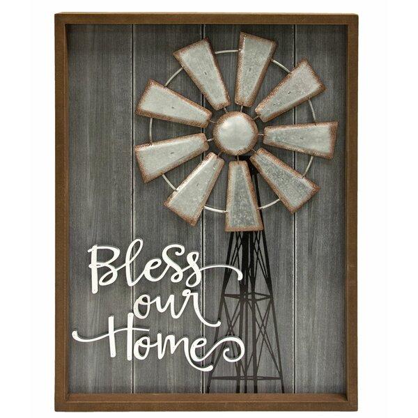 Bless Our Home Wall Decor Wayfair