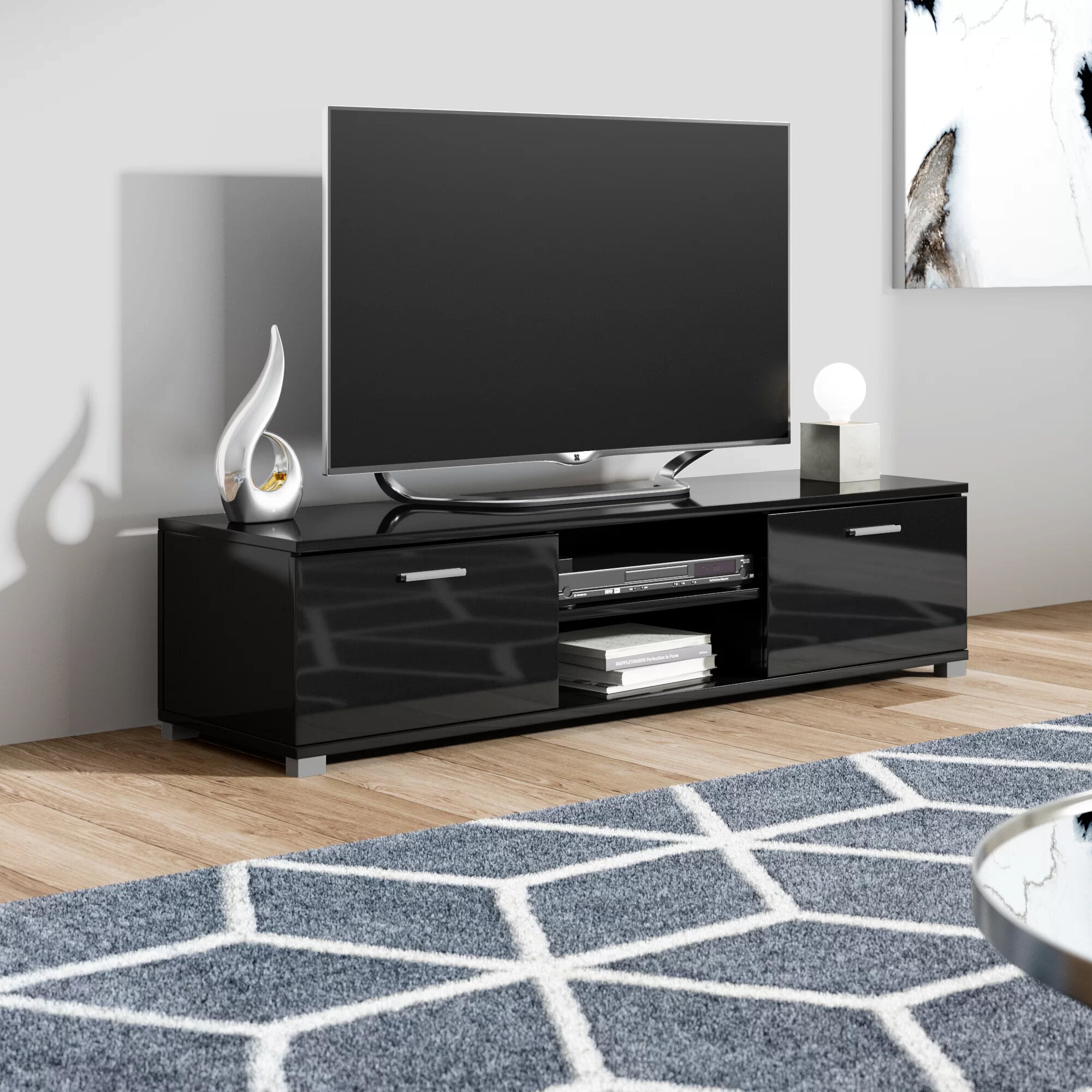 17 Stories Tv Stand For Tvs Up To 60 Reviews Wayfair Co Uk