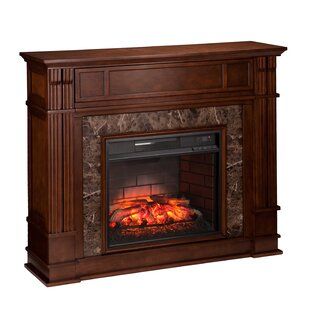 Alcott Hill Contreras Infrared Media Electric Fireplace