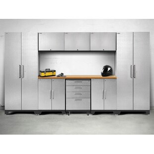 Performance 2.0 9 Piece Storage Cabinet Set by NewAge Products