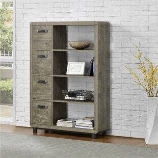 Jodi Standard Bookcase by Grey..