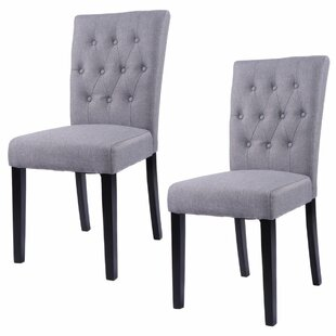 Charlton Home Kimmons Upholstered Dining Chair (Set of 2)