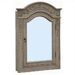 Great Price Lido Single Door Bathroom 30 x 40 Surface Mount Medicine Cabinet ByEmpire Industries