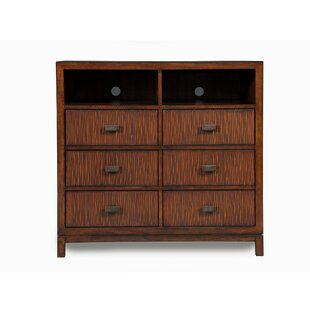 Rogalski Chicly Up-scaling TV 6 Drawer Media Chest