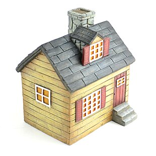 Miniature Garden Cottage House Statue by Midwest Design Imports