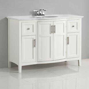 Winston 49 Single Bathroom Vanity Set BySimpli Home