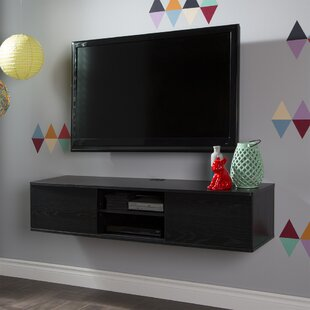 Simple Wall Mounted Tv Cabinet With Doors Model
