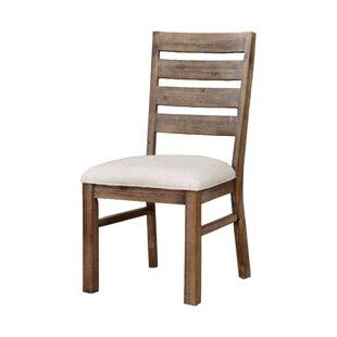 Avila Industrial Upholstered Dining Chair..