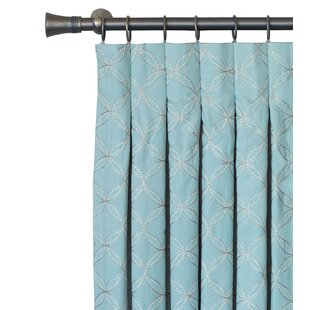 Magnolia Inverted Pinch Pleat Curtain Panel
