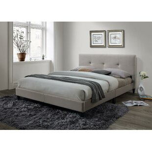 McArthur Upholstered Platform Bed by Ebern Designs