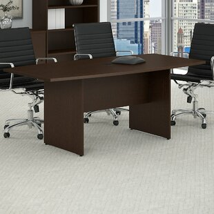 Buying Boat shaped 28.65H x 35.98W x 71.54L Conference Table By Bush Business Furniture