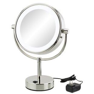 Yadhu Modern Round Makeup/Shaving Mirror ByOrren Ellis