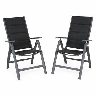 Trikomo Folding Garden Chair (Set Of 2) By Sol 72 Outdoor