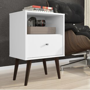 Coupon Amory 1 Drawer Nightstand By Trent Austin Design