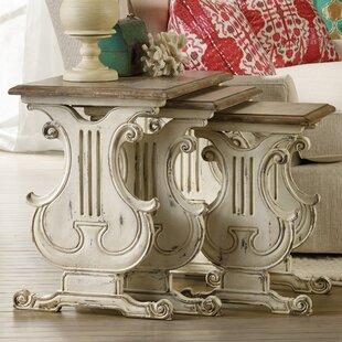 Hooker Furniture Sanctuary 3 Piece Nesting Tables