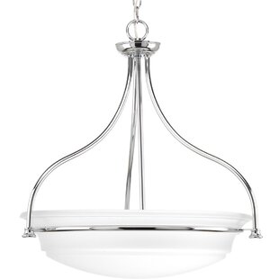 Charlton Home Perot 3-Light Bowl Pendant