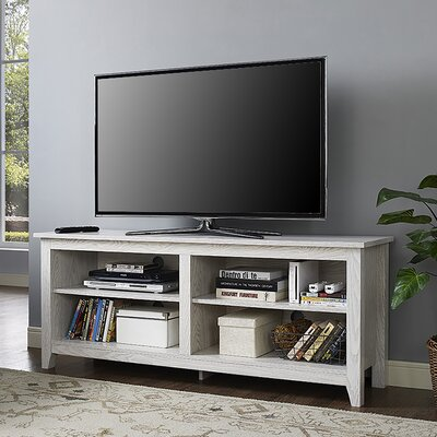 Beachcrest Home Sunbury TV Stand for TVs up to 60 Color: White Wash