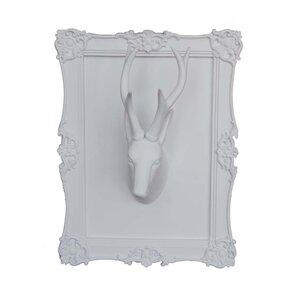 White Deer Head Wall Decor white deer head wall decor   wayfair