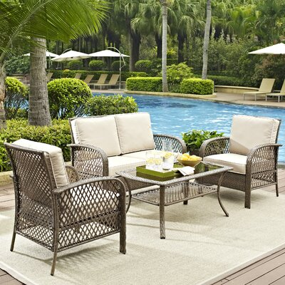 Niceville 4 Piece Deep Seating Group With Cushion