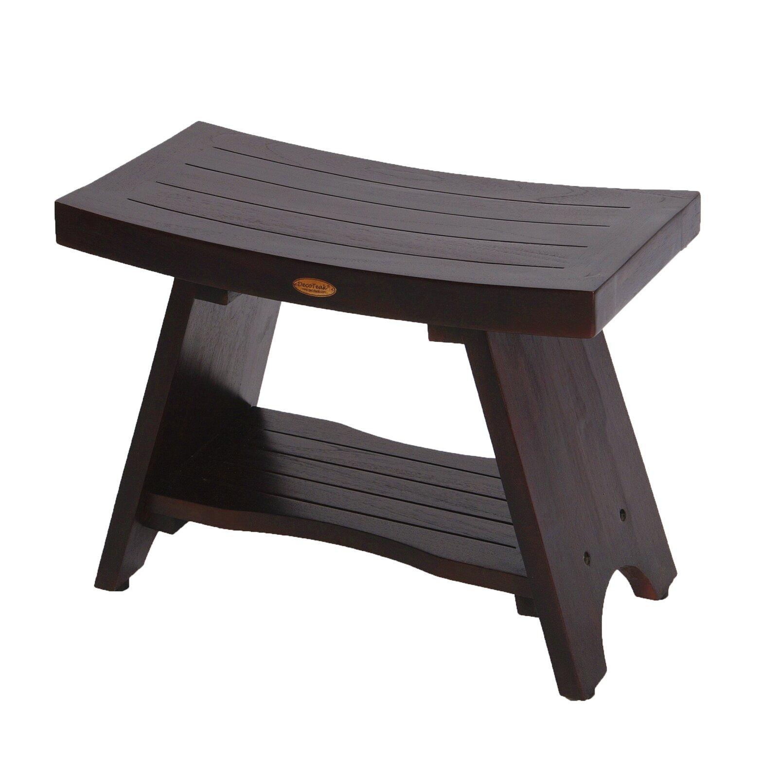chairs shower dreamline teak x stool folding wood stools tk p chrome shst in seat natural