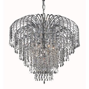 House of Hampton Westrem 6-Light Crystal Chandelier