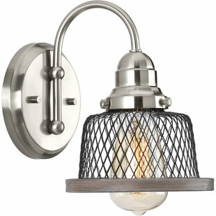Top Reviews Murillo 1-Light Bath Sconce By Beachcrest Home