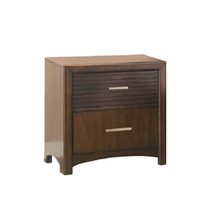 Edison 2 Drawer Nightstand