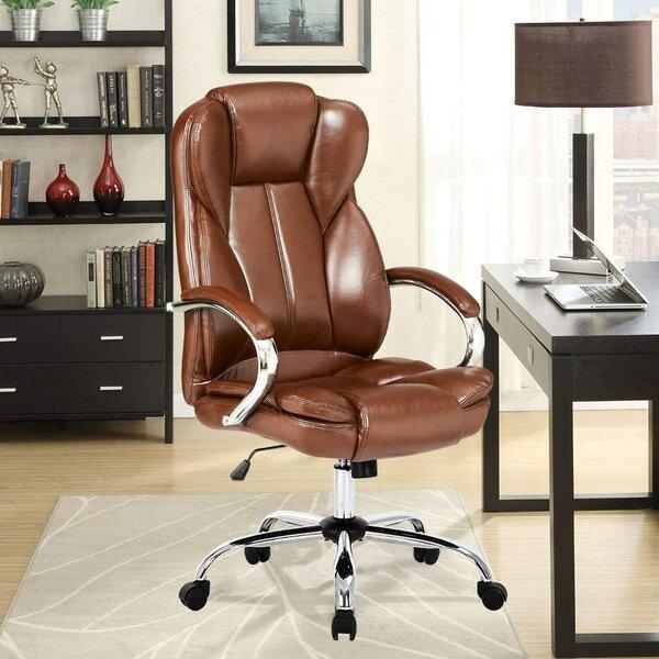 Inbox Zero Ergonomic Home Office Chair, High Back Pu