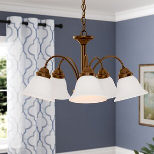 Scaggs 5-Light Shaded Chandelier by Winston Porter