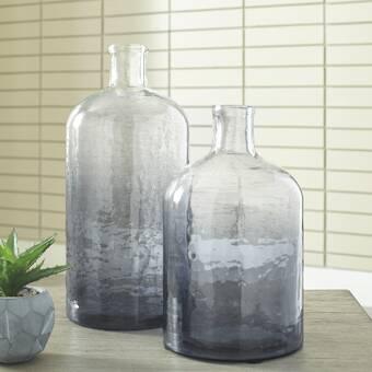 Corrigan Studio 3 Piece Floor Vase Set Reviews Wayfair