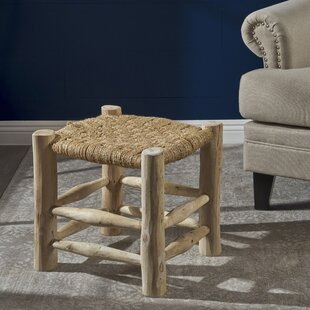 Sid Hand-Woven Accent Stool