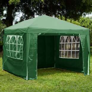 Shapiro 3 X 3m Metal Party Tent By Sol 72 Outdoor