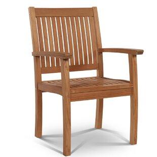 HiTeak Furniture Buckingham Teak Patio Dining Chair