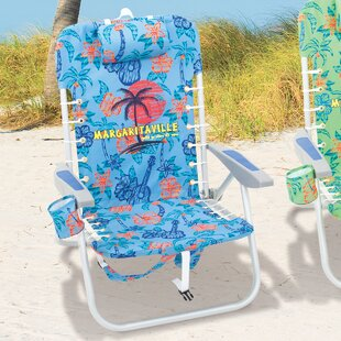 Lace-Up Reclining Beach Chair by Margaritaville