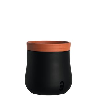 Serra Glass Plant Pot By Leonardo