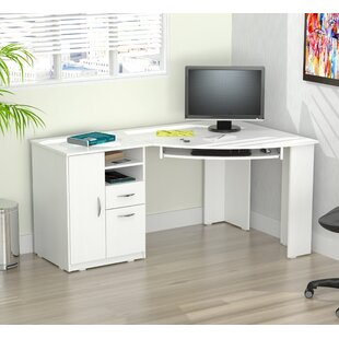 Darya Engineered Wood Corner Executive Desk by Latitude Run