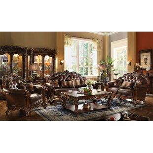 Astoria Grand Esmeralda 3 Piece Coffee Table Set